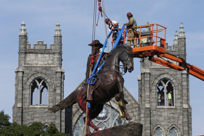 Richmond Confederate Statue Removal