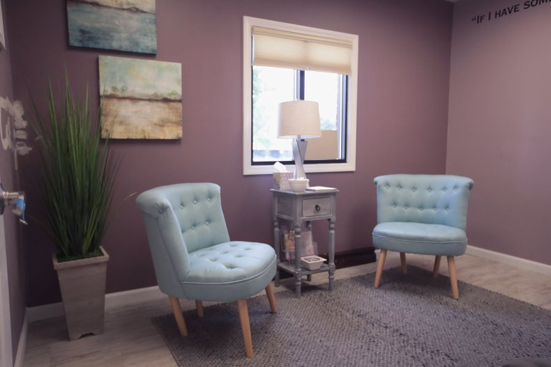 A counseling room