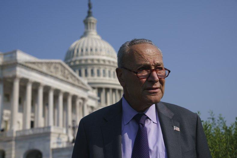 Sen. Majority Leader Chuck Schumer