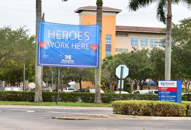 Over 8,900 Hospitalized in Florida with COVID
