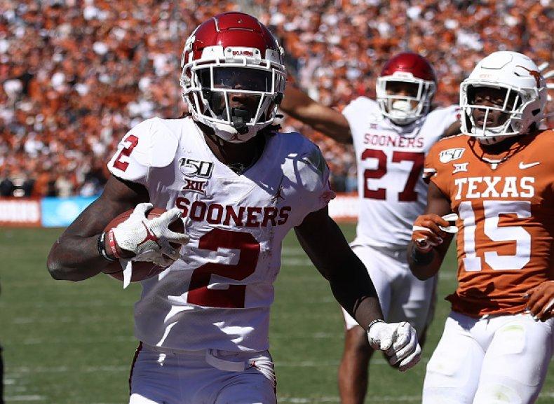 Texas and Oklahoma to SEC