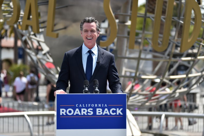 Gavin Newsom recall election