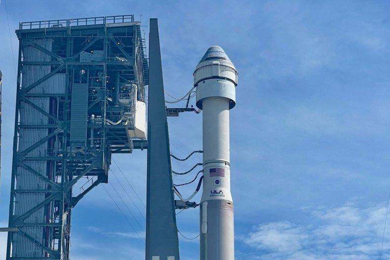 CST-100 Starliner spacecraft