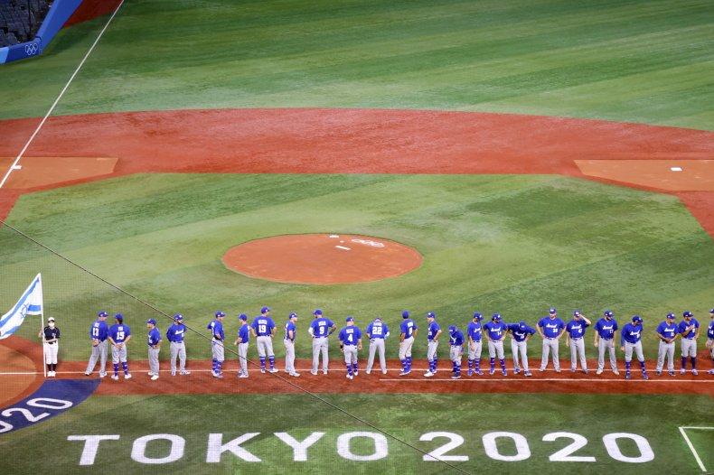 Israel baseball team at Tokyo Olympics