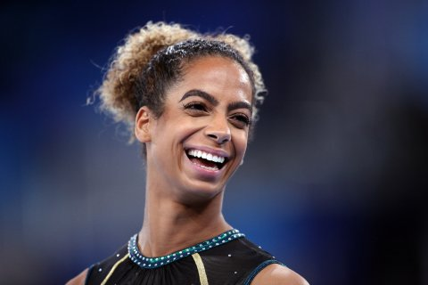 Danusia Francis is an Olympic gymnast