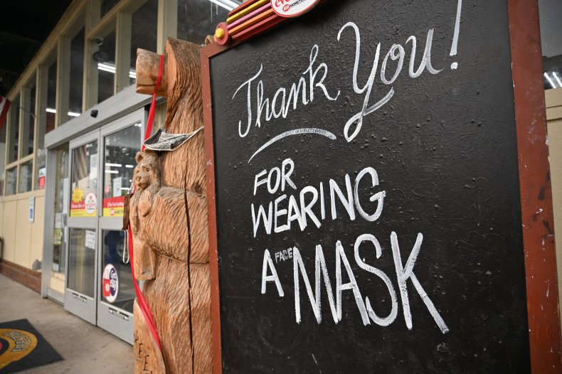 Mask mandates return