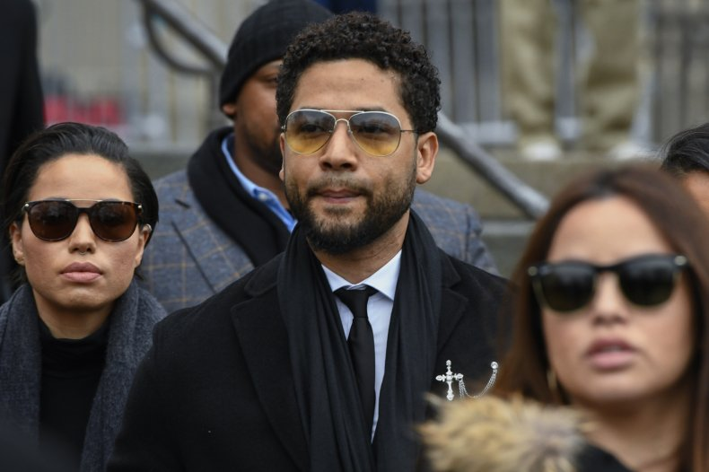 Jussie Smollett Leaves Courthouse