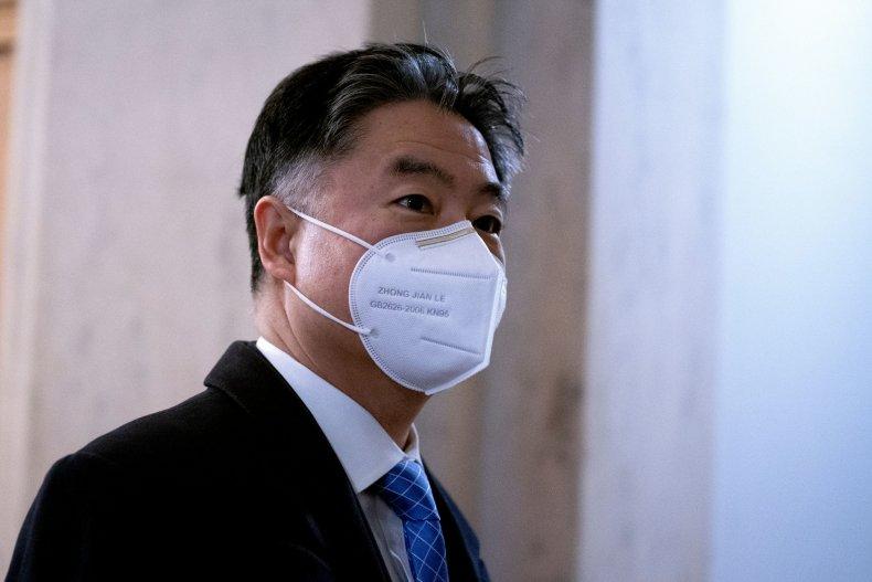 Representative Ted Lieu at the Capitol