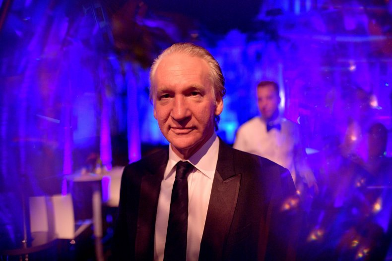 Bill Maher at an Oscars afterparty.