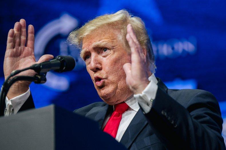 Donald Trump fundraising