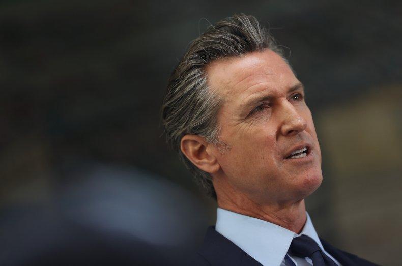 California Governor Gavin Newsom stimulus checks eligibility