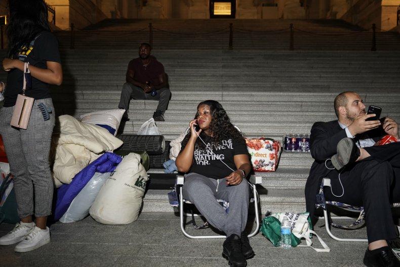 Cori Bush, progressives eviction moratorium covid-19 Biden