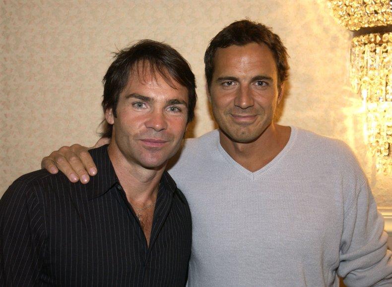 Jay Pickett and Thorsten Kaye in 2002
