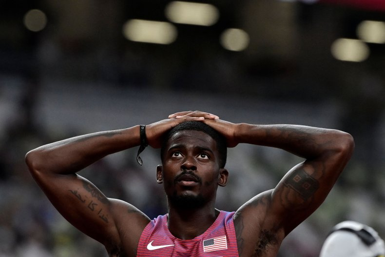 Trayvon Bromell reacts to semi-final disappointment Olympics