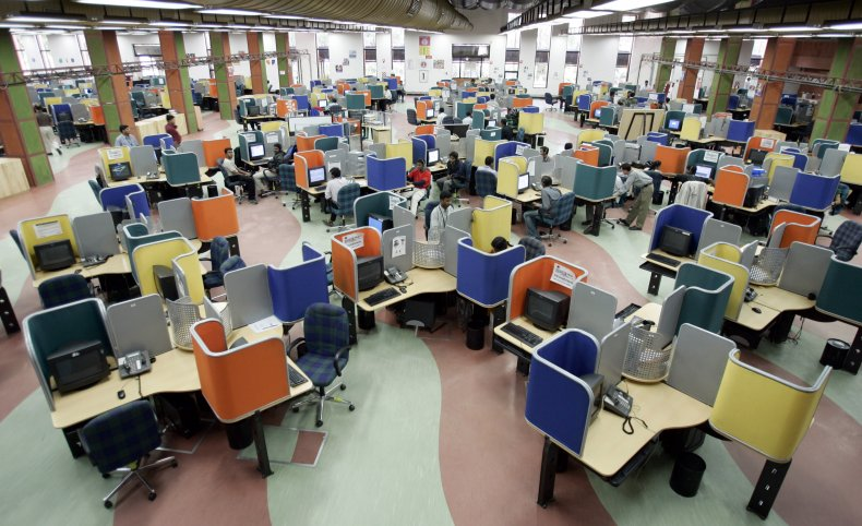 65 arrested for operating fake call center
