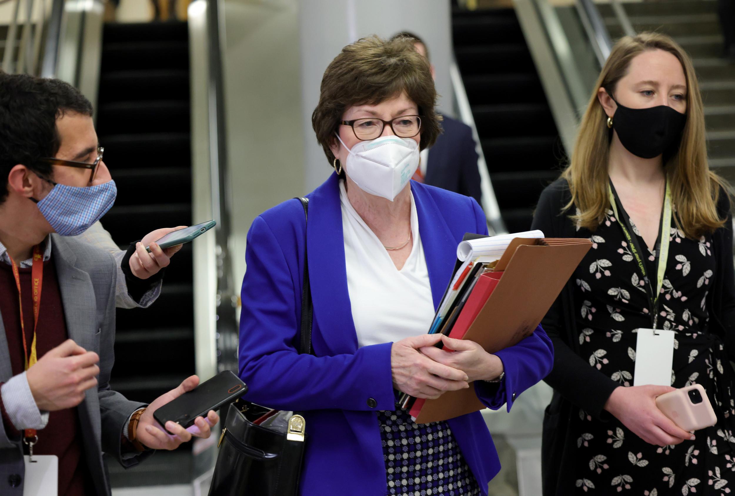Susan Collins Criticizes Nancy Pelosi Over 'Partisan' Jan. 6 Committee