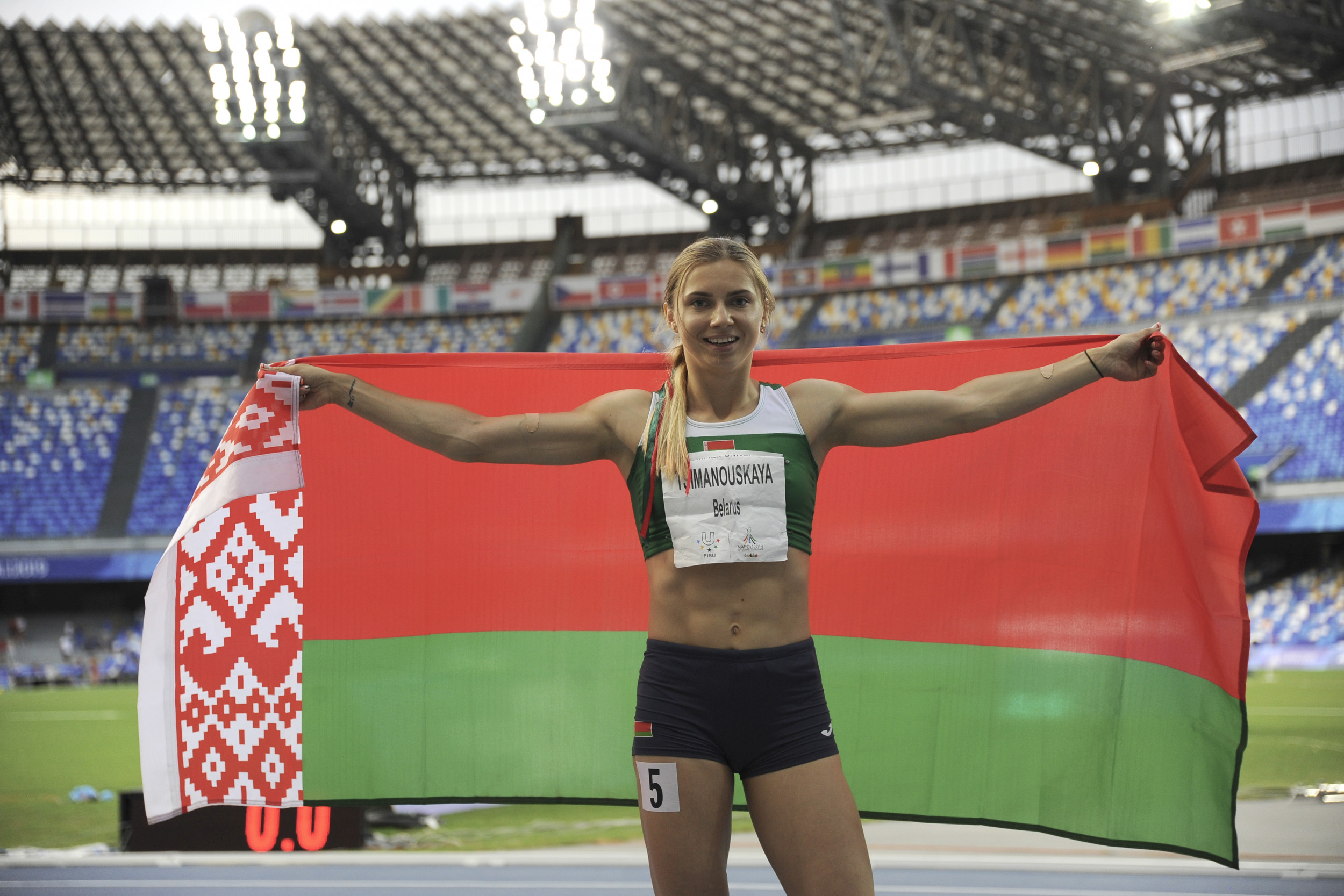 Belarus Sprinter Says She Was Forcibly Removed From Olympics