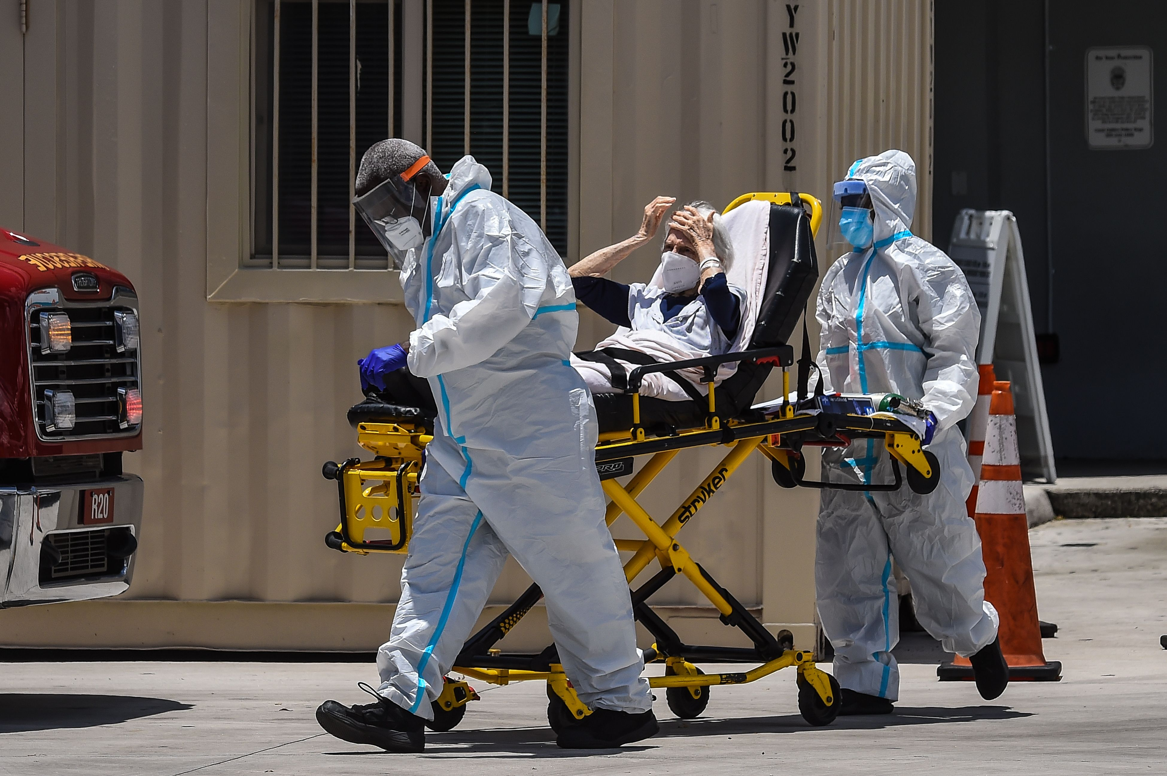 Florida Breaks Record for COVID Hospitalizations
