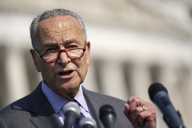 Schumer says infrastructure vote coming within days