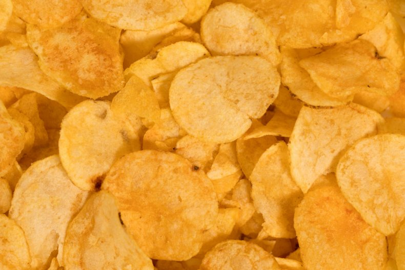 fat-free potato chips