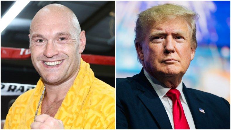 Tyson Fury and Donald Trump