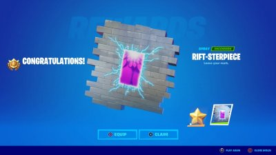 Rift-sterpiece Spay in Fortnite