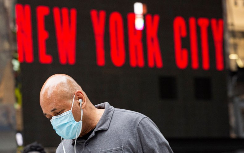 new york city mask strongly recommend
