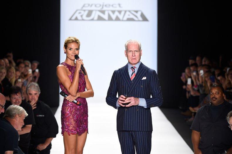 Project Runway at New York Fashion Week