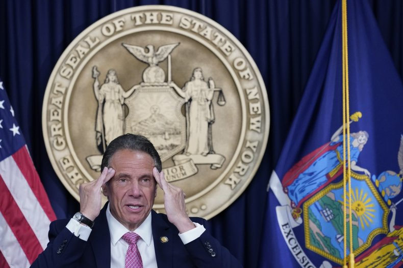 New York Governor Andrew Cuomo Holds Covid