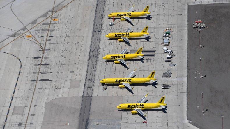 Spirit Cancels One-Third of Their Flights