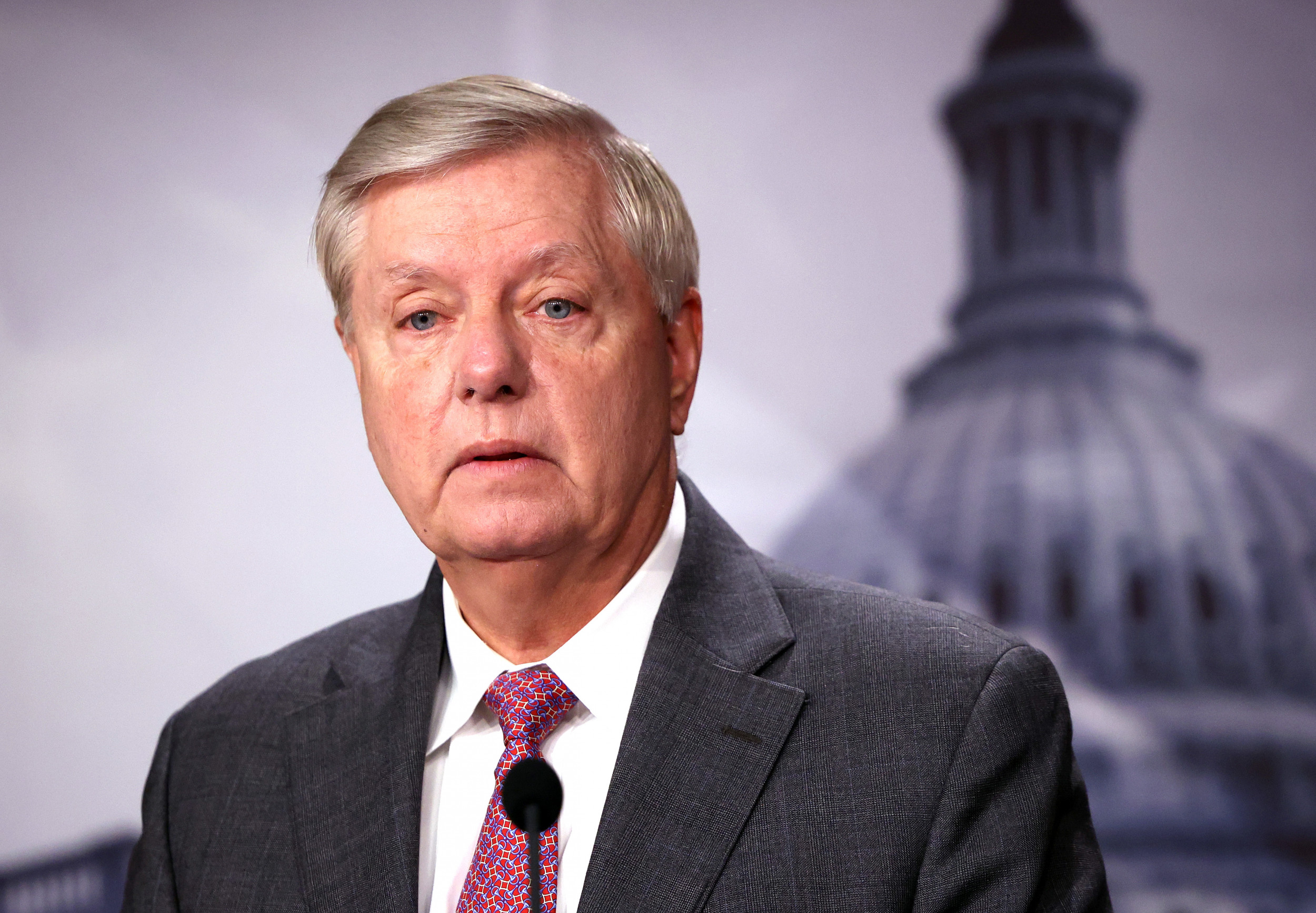 Lindsey Graham Has COVID-19, Says He's Grateful He Got Vaccinated