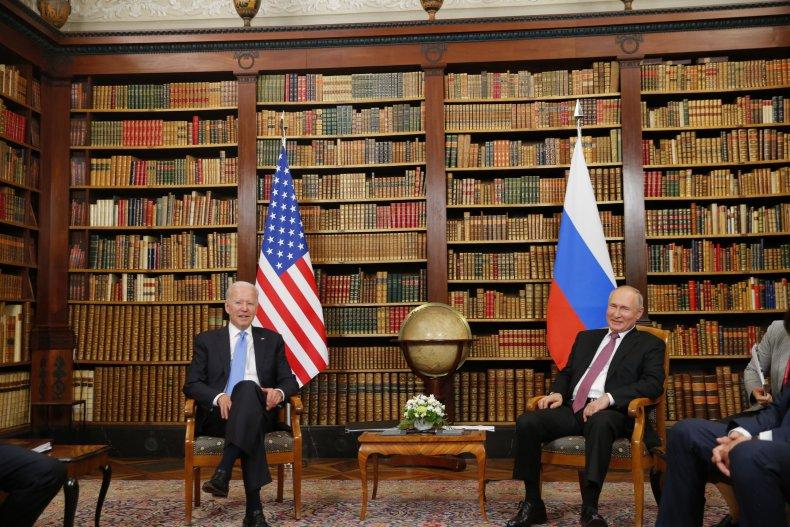 Biden Meets with Putin in Switzerland