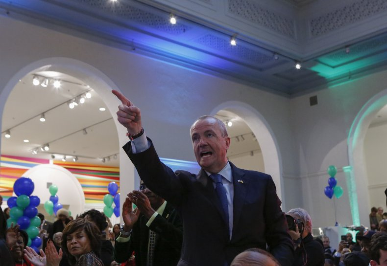 New Jersey Governor elect Phil Murphy attends