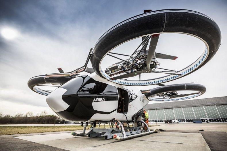 Airbus CityAirbus eVTOL