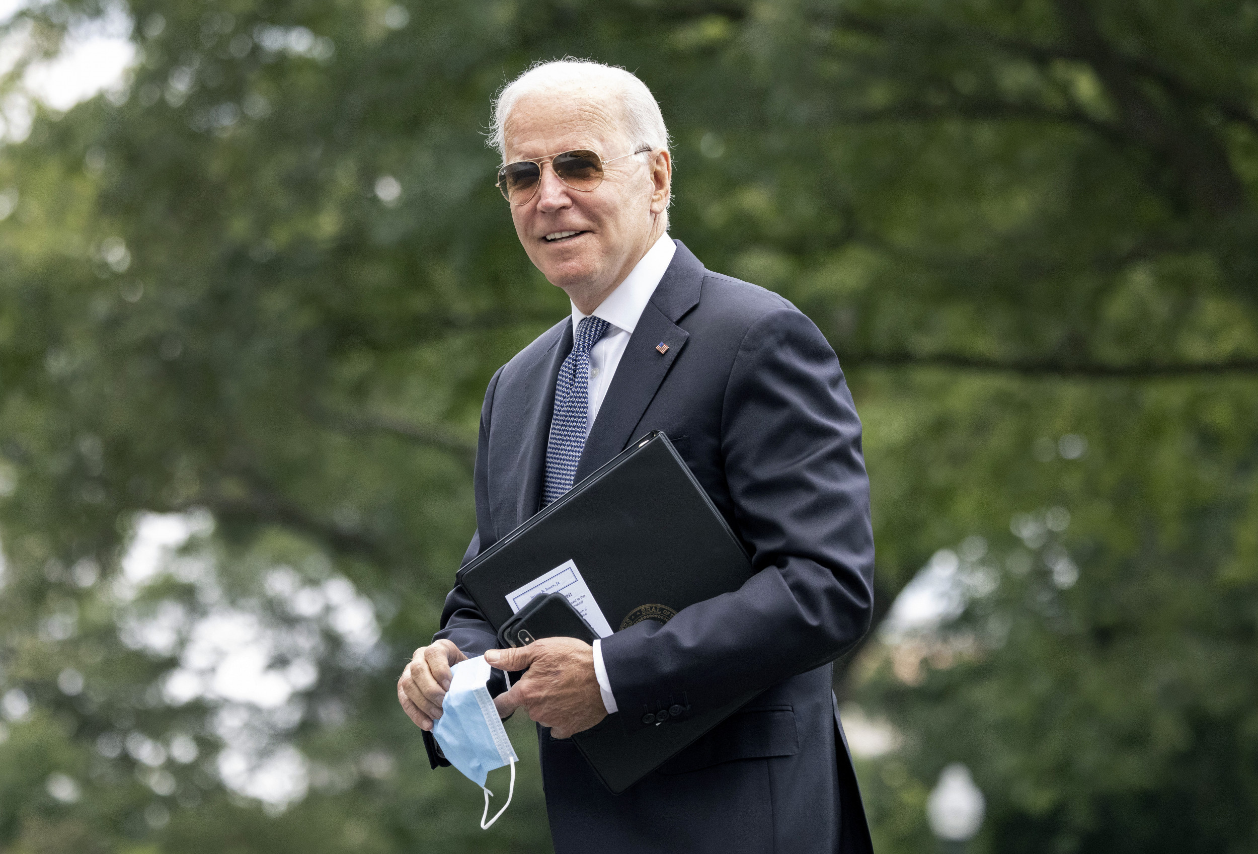 Biden's Approval Rating Drops in Latest Poll