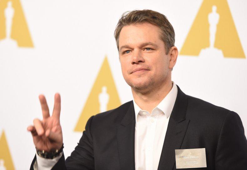 Matt Damon homosexual slur f-word faggot comments