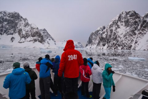 2041 Climate Force Antartica Expedition