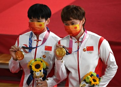 Olympics Body Probes Gold Medallists Political Gestures