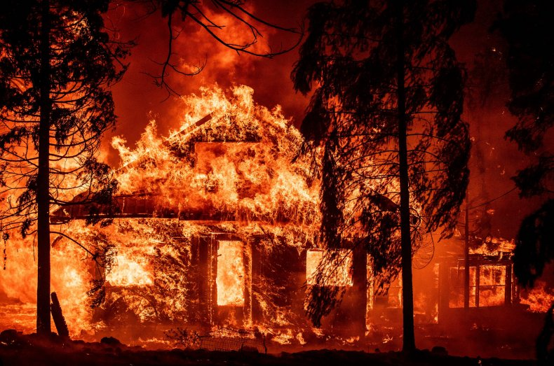 wildfires, california, dixie fire, getty
