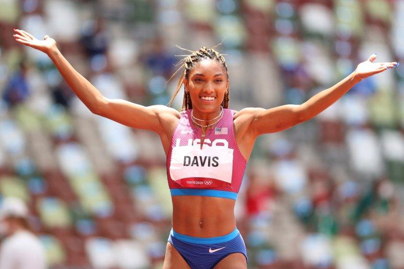 Tara Davis at 2020 Olympics
