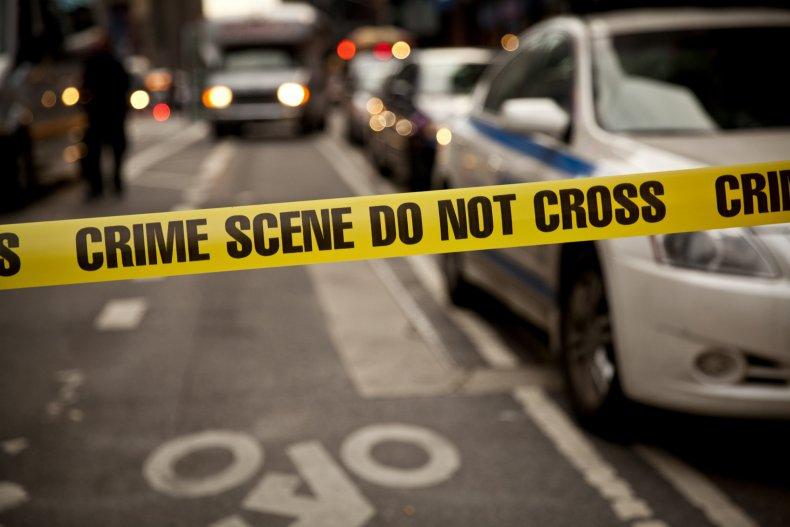 File photo of a crime scene.