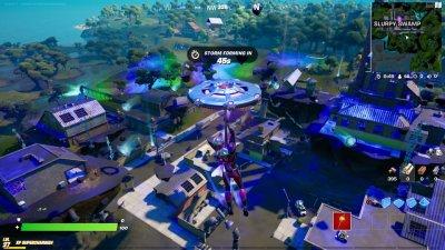 Slurpy Swamp in Fortnite Update 17.30