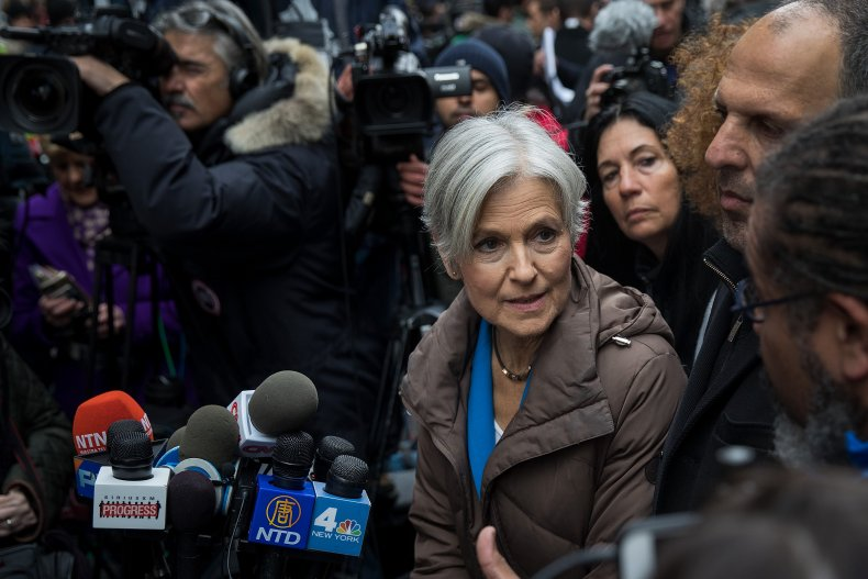Jill Stein gives interview in NYC