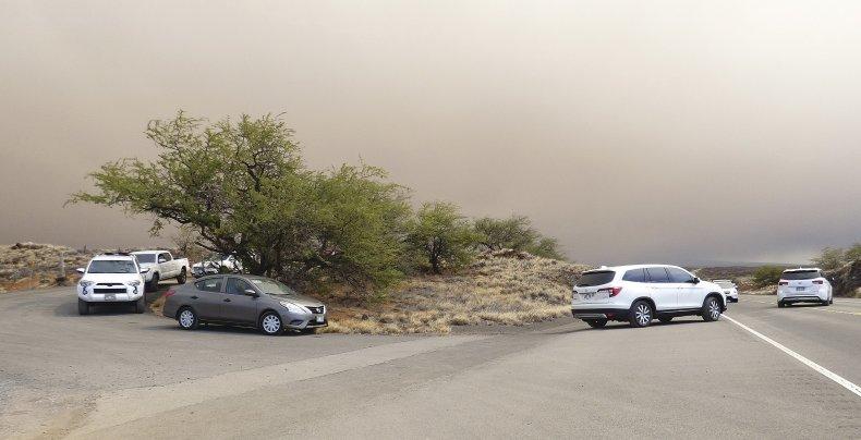 Hawaii's Big Island Wildfire