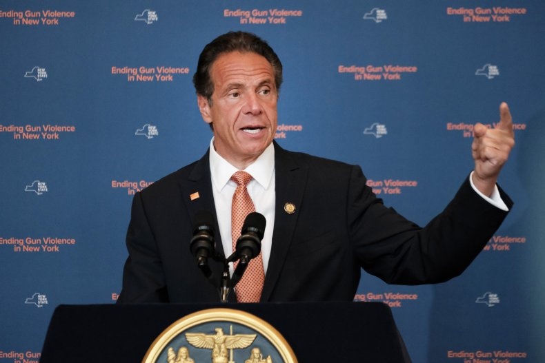 New York Gov. Cuomo Speaks On Gun