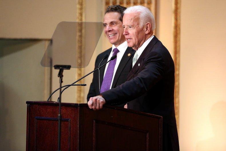 Biden reacts to Cuomo investigation