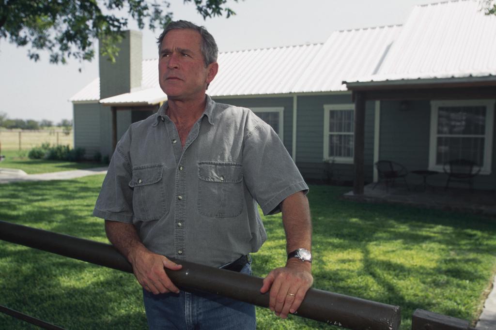 George W. Bush Crawford Texas President Election2000