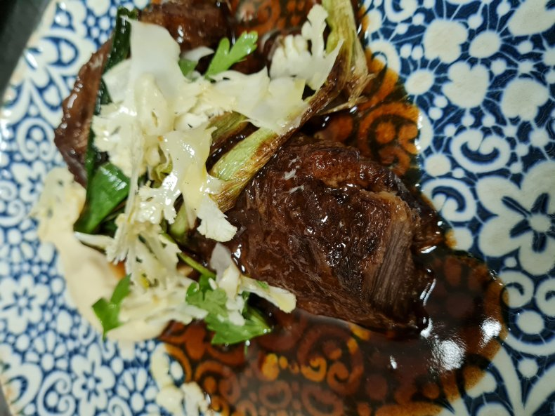 Chef Susy's Instant Pot braised veal cheeks