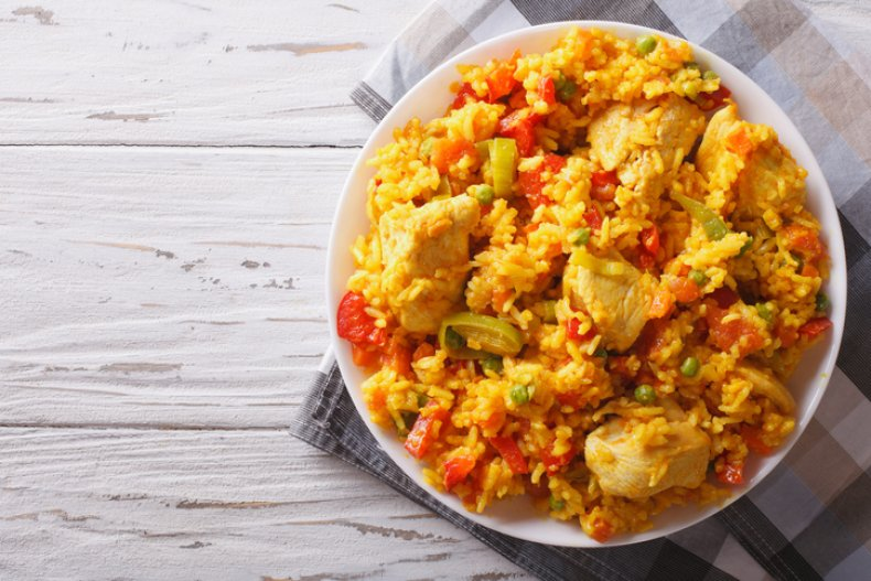 Tara Osborn's Chicken and Rice Instant Pot