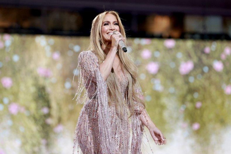 Jennifer Lopez at VAX LIVE